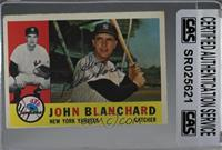 Johnny Blanchard [CASCertifiedSealed]