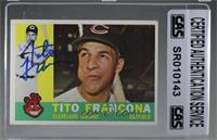 Tito Francona [CAS Certified Sealed]