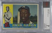 Hank Aaron [BVG 7 NEAR MINT]