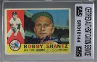 Bobby Shantz [CASCertifiedSealed]