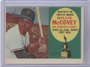 1960 Topps - [Base] #316 - Willie McCovey