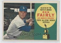 Topps All-Star Rookie (Ron Fairly)