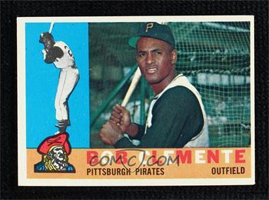 1960 Topps - [Base] #326 - Roberto Clemente (Bob on Card)