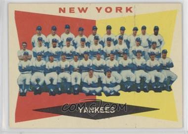1960 Topps - [Base] #332 - New York Yankees