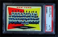 New York Yankees [PSA8NM‑MT]