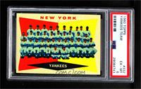 New York Yankees [PSA6EX‑MT]