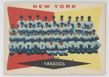 1960 Topps - [Base] #332 - New York Yankees