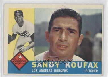 1960 Topps - [Base] #343 - Sandy Koufax