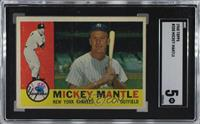 Mickey Mantle [SGC 5 EX]