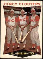 Gus Bell, Frank Robinson, Jerry Lynch [FAIR]