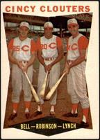 Gus Bell, Frank Robinson, Jerry Lynch [VGEX]