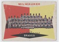 Milwaukee Braves Team (White Back)