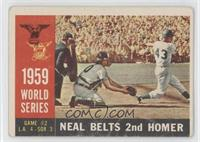 World Series Game #2: Neal Belts 2nd Homer (Charlie Neal) (Gray Back) [Poor]