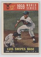World Series Game #5: Luis Swipes Base (Gray Back) [GoodtoVG‑…