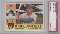 Earl Averill, Jr [PSA 5]