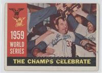 World Series: The Champs Celebrate (White Back) [Good to VG‑EX]