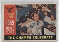 World Series: The Champs Celebrate (White Back) [Poor to Fair]