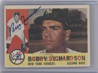 Bobby Richardson (Gray Back) [JSA Certified Auto]