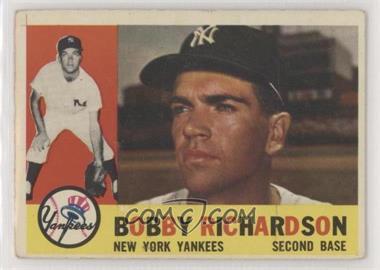 1960 Topps - [Base] #405.2 - Bobby Richardson (Gray Back)