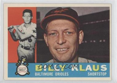 1960 Topps - [Base] #406.2 - Billy Klaus (Gray Back)