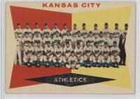 Kansas City Athletics Team (Gray Back) [Poor to Fair]