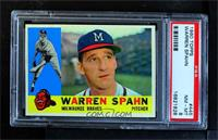 Warren Spahn [PSA 8 NM‑MT]