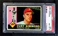 Curt Simmons [PSA 8 NM‑MT]