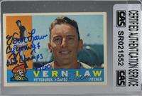 Vern Law [CASCertifiedSealed]