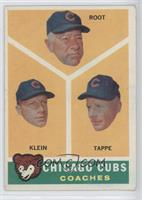 Chicago Cubs Coaches (Lou Klein, Charley Root, El Tappe) [GoodtoVG&…