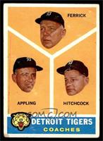 Detroit Tigers Coaches (Tom Ferrick, Billy Hitchcock, Luke Appling) [GOOD]