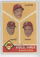 Philadelphia Phillies Coaches (Dick Calmus, Andy Cohen, Ken Silvestri