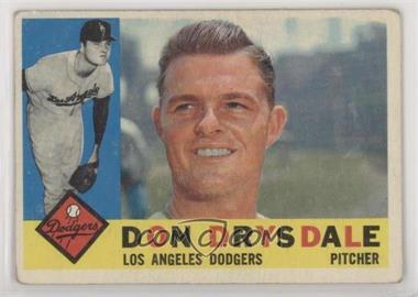 1960 Topps - [Base] #475 - Don Drysdale [GoodtoVG‑EX]
