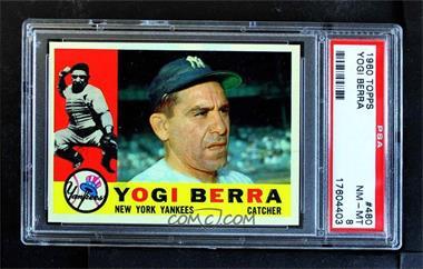 1960 Topps - [Base] #480 - Yogi Berra [PSA8NM‑MT]