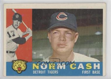 1960 Topps - [Base] #488 - Norm Cash [GoodtoVG‑EX]