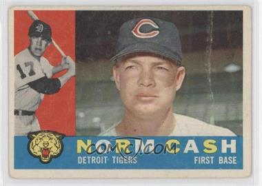 1960 Topps - [Base] #488 - Norm Cash [Good to VG‑EX]
