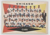 High # - Chicago Cubs Team [Noted]