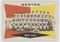 High # - Boston Red Sox Team