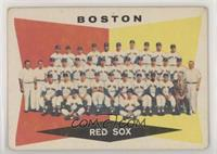 High # - Boston Red Sox Team [GoodtoVG‑EX]