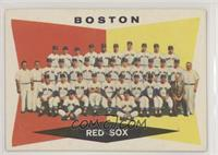 High # - Boston Red Sox Team