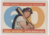 High # - Eddie Mathews