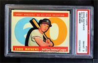 High # - Eddie Mathews [PSA 8 NM‑MT]