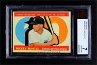 High # - Mickey Mantle [BVG 7 NEAR MINT]
