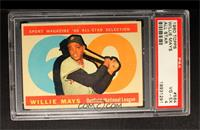 Willie Mays [PSA 4]