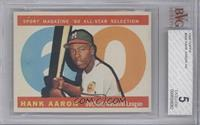 Hank Aaron [BVG 5 EXCELLENT]