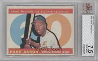 High # - Hank Aaron [BVG 7.5 NEAR MINT+]