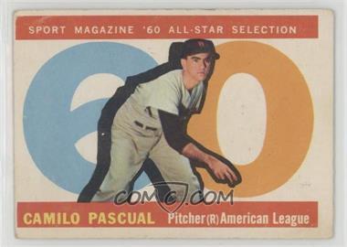 1960 Topps - [Base] #569 - High # - Camilo Pascual [GoodtoVG‑EX]