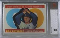 High # - Don Drysdale [BVG 8 NM‑MT]