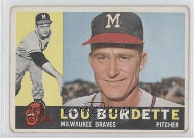 1960 Topps - [Base] #70 - Lou Burdette [GoodtoVG‑EX]