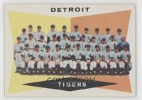 Checklist, Detroit Tigers Team [Poor to Fair]