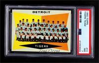 Checklist, Detroit Tigers Team [PSA7NM]